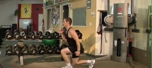 Standing Jump and Lunge with Two Legs