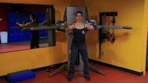 Chest/Diaphragm/Ab/Shoulder Blade Integration: Standing Chest Fly