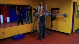 Scapular Stabilizing: Standing Overhead Tricep