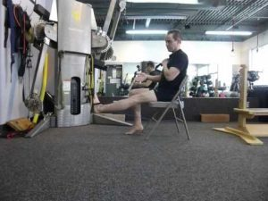 leg extension with cord